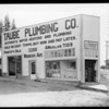 Taube Plumbing shop, 3200 Wabash Avenue, Los Angeles, CA, 1928