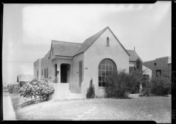 555 West 102nd Street, Los Angeles, CA, 1927