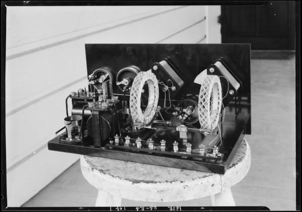 Radio sets, Southern California, 1925