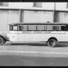 Brawley Grammar School bus, Southern California, 1931