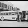New San Fernando buses Original Stage Line, Southern California, 1928