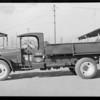 Dump truck belonging to General Petroleum Co., Southern California, 1929