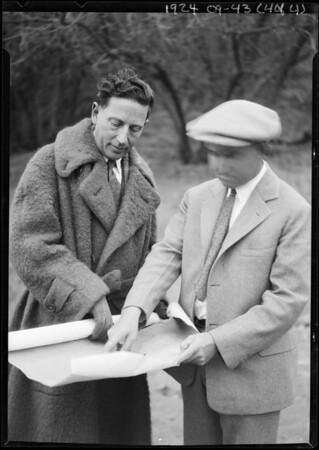 Victor Girard, Southern California, 1924