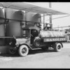 Seaboard Petroleum Co. trucks, Southern California, 1928