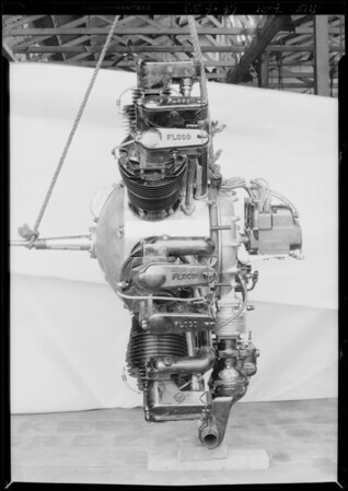 Floco motor, Southern California, 1928