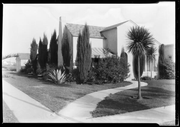 2002 La Grange Street, Westwood, Los Angeles, CA, 1928