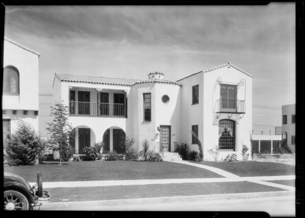1064-1066 South Hayworth Avenue, Los Angeles, CA, 1928