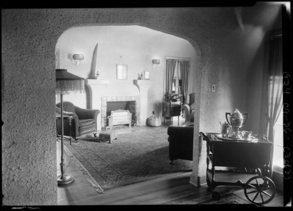Roscoe Shapland, Southern California, 1924