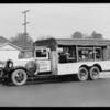 Hobart Equipment Co. truck, Southern California, 1931