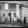 Crowd at small homes exhibit, Los Angeles, CA, 1928
