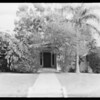 House at 1762 Tamarind, Southern California, 1928