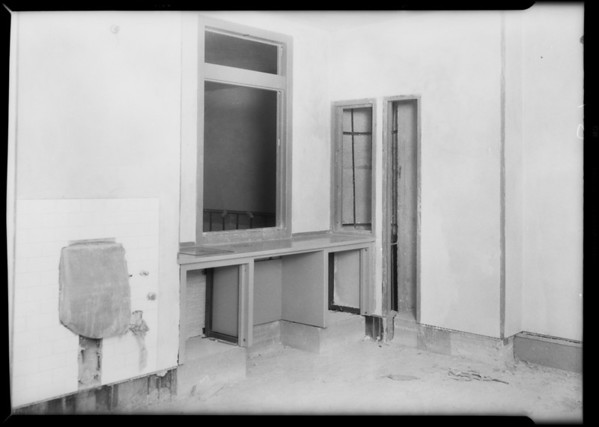Installation, County Hospital, Los Angeles, CA, 1931