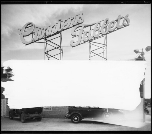 Interiors etc., Curriers, Southern California, 1931