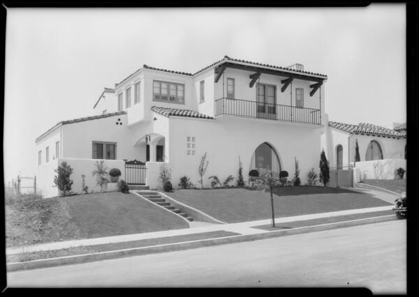 3836 Vernon Place, Southern California, 1929