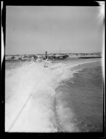 At Balboa Island, Newport Beach, CA, 1928