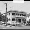 Northeast corner Francis & Westmoreland, Los Angeles, CA, 1925