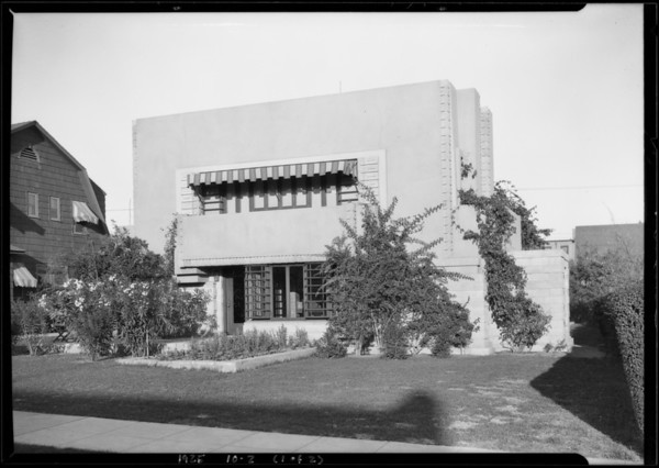 1530 North Ogden Drive, Los Angeles, CA, 1925