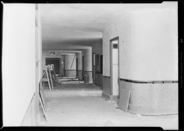 County Hospital, installation, Grassi Co., Los Angeles, CA, 1931