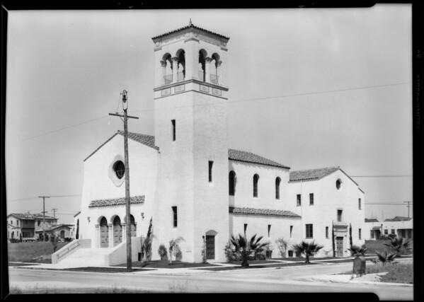 Church building, View Park-Windsor Hills, CA, 1929