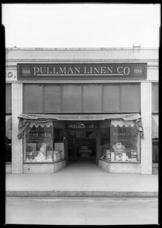 Pullman Linen Supply Co., Southern California, 1925