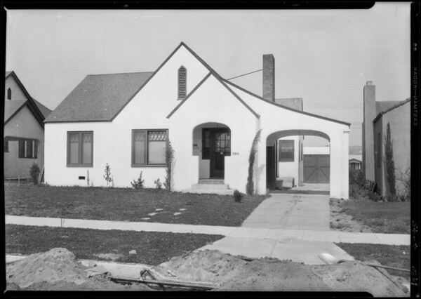 3311 Garden Avenue, Los Angeles, CA, 1928