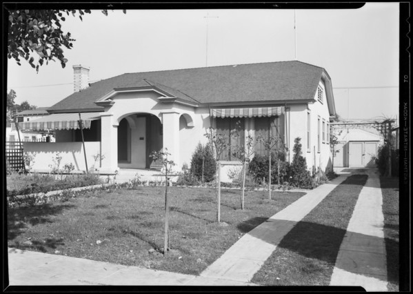 942 North Genesee Avenue, West Hollywood, CA, 1930