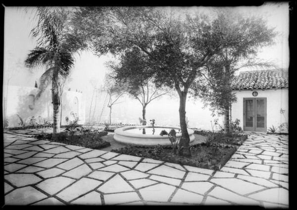 Callan estate, Southern California, 1928