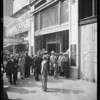 Opening of buffet at 615 South Spring Street, Los Angeles, CA, 1930