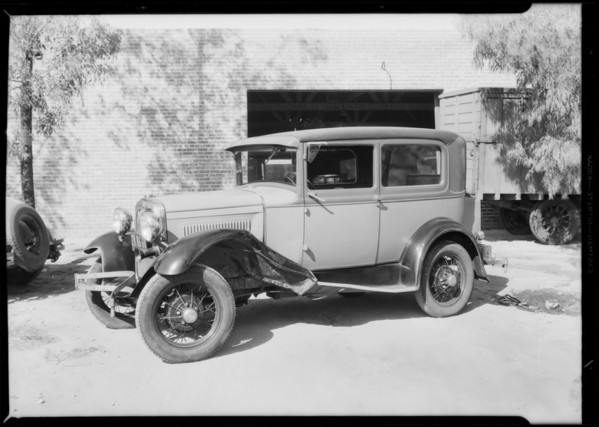 Ford, Hollywood Boulevard and North Edgemont Street, Los Angeles, CA, 1931