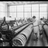 Scenes in Inglewood plant, International Textile Co., Inglewood, CA, 1928