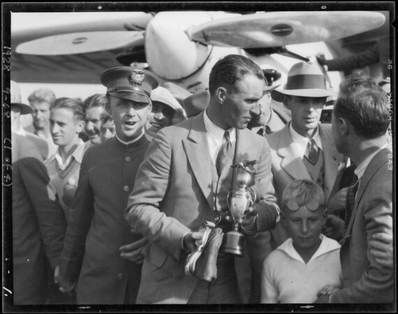 Shots at Mines Field [Los Angeles International Airport], Los Angeles, CA, 1928