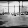 Gas station on South Avalon Boulevard near East Slauson Avenue, Los Angeles, CA, 1928