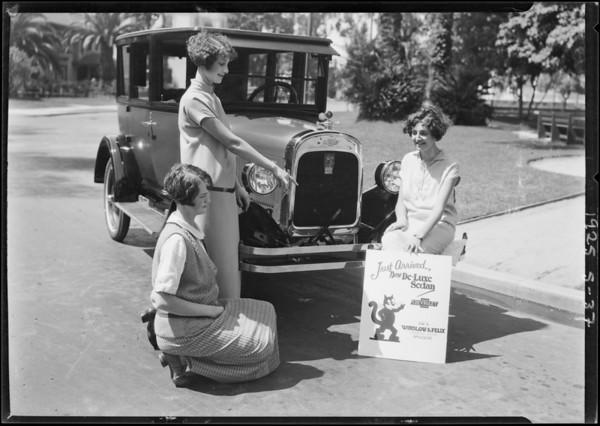 Felix Chevrolet - Boulding, Southern California, 1925