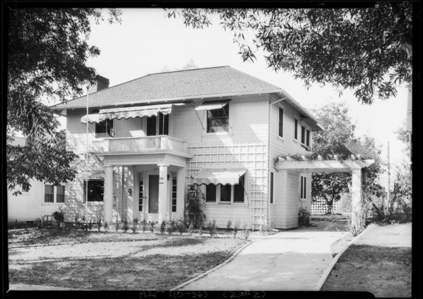 595 North Chester Avenue, Pasadena, CA, 1925
