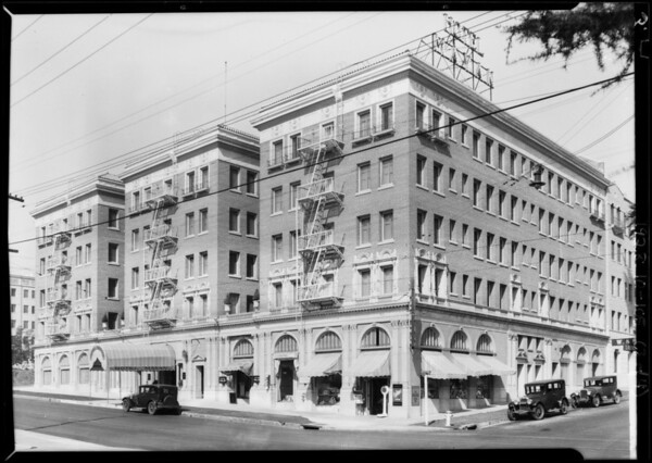 Mayan Hotel, 3049 West 8th Street, Los Angeles, CA, 1928