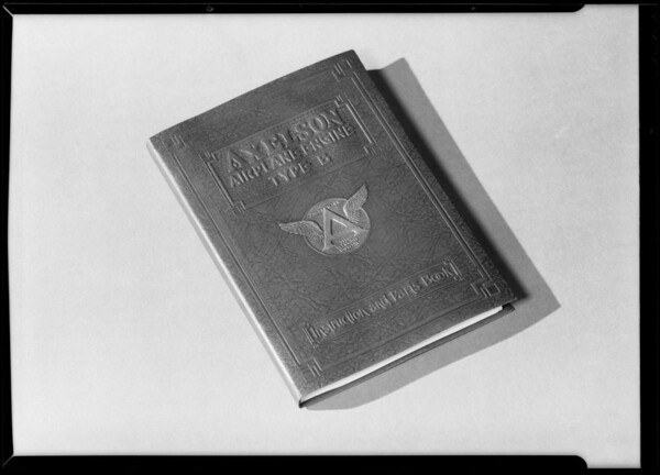 Catalogue book, Axelson, Southern California, 1930