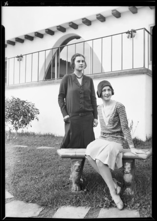 """Seville"" home for Clarke of Herald, Southern California, 1930"