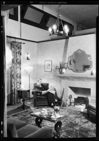 Budget bungalow, Miss Bunch, Southern California, 1931