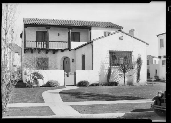 6139 Eulalia Boulevard [San Vicente Boulevard], Los Angeles, CA, 1928