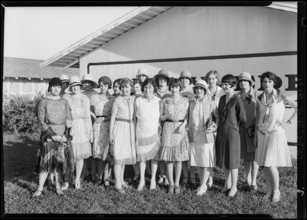Runnymede Anniversary, Southern California, 1928