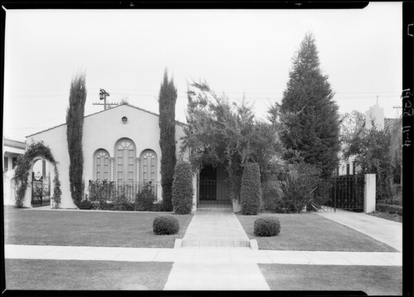 208 North Beachwood Drive, Los Angeles, CA, 1928