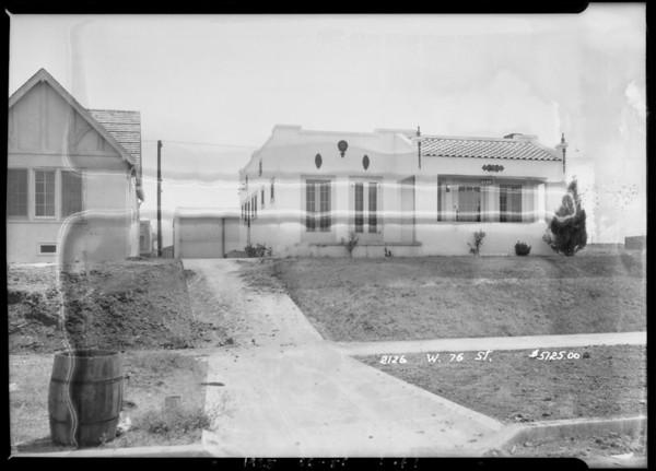 2126 West 76th Street, Los Angeles, CA, 1925