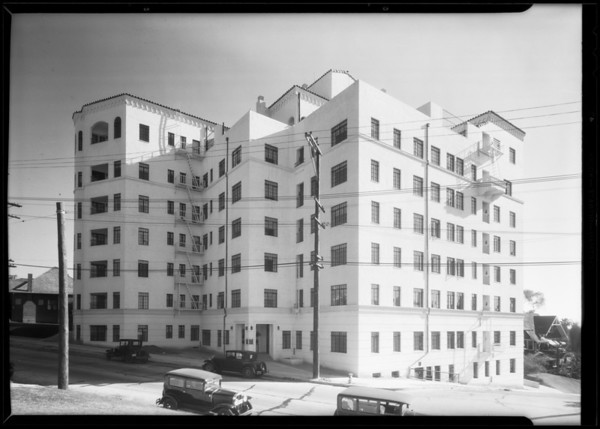 Taggert Apartments, 2430 Ocean View Avenue, Los Angeles, CA, 1930