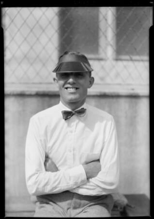 Coach Swan, Lincoln High School, Southern California, 1925