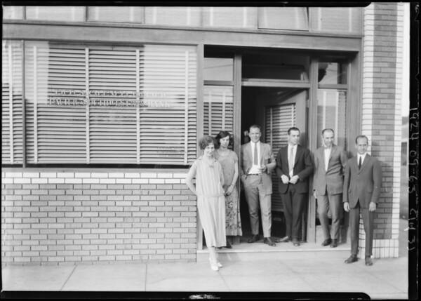 Pacific-Southwest Trust & Savings Bank - Pico & Valencia Branch, 1501 West Pico Boulevard, Los Angeles, CA, 1924
