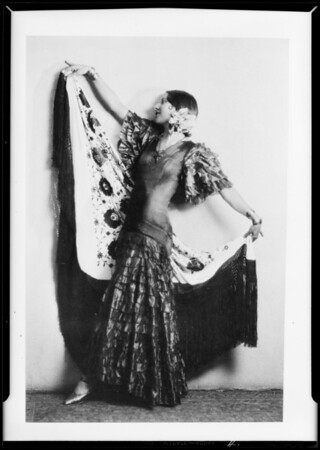 Copies of proofs, Miss Goodou, Southern California, 1931