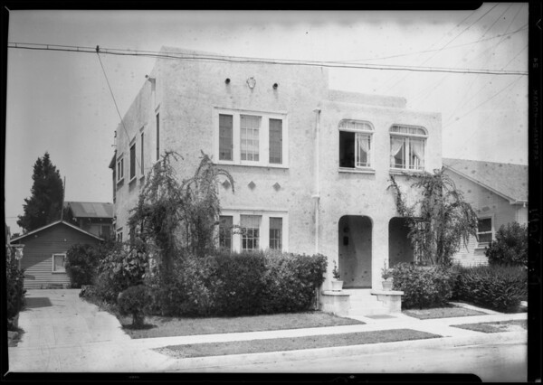 433 North Normandie Avenue, Los Angeles, CA, 1928