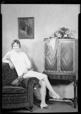 Marilyn Morgan of Pathé, Southern California, 1929