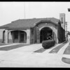 Fire station 10th and Norton, Southern California, 1929