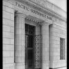 Pacific-Southwest Bank, front of San Pedro & Vernon Branch, Los Angeles, CA, 1925